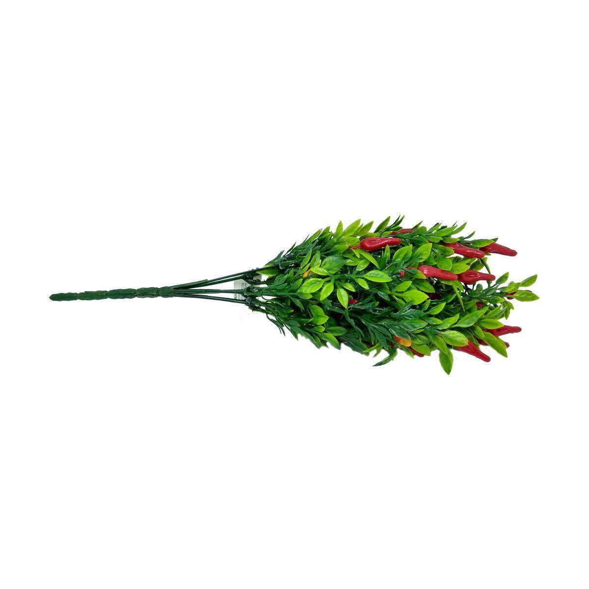 Folhagem Pimenta PLT Vermelho com Verde 37cm - 11414001
