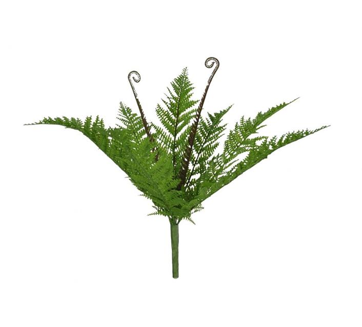 Folhagem Samambaia artificial X7 (verde) 40cm - 32046001