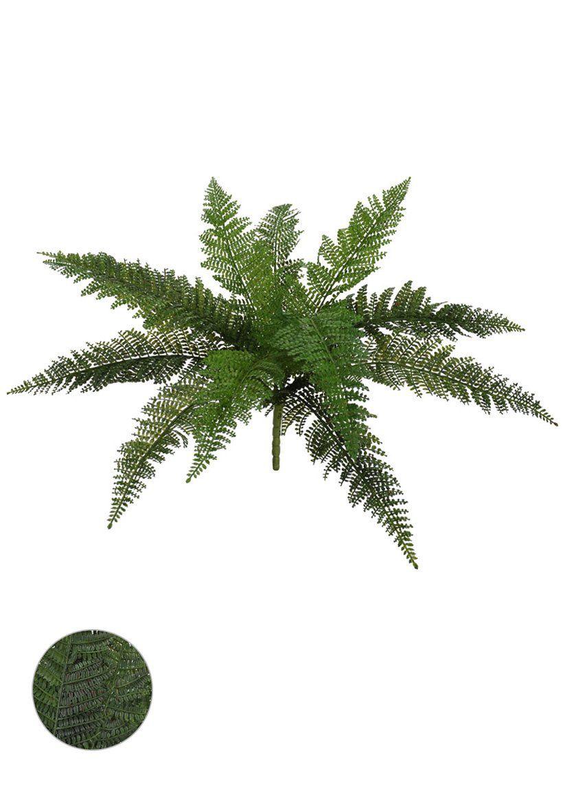 Folhagem Samambaia PLT X12 artificial Verde 55cm - 29608001
