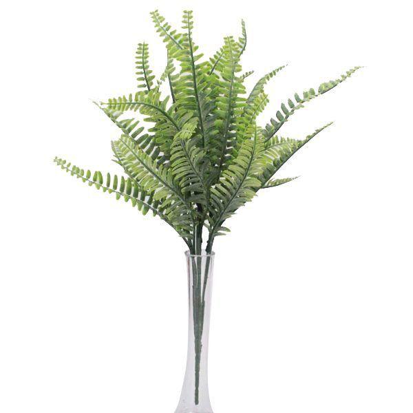 Folhagem Samambaia X7 Verde 40cm