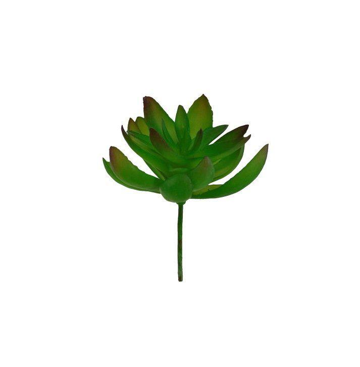 Folhagem Suculenta artificial Verde 11 cm 32064-001