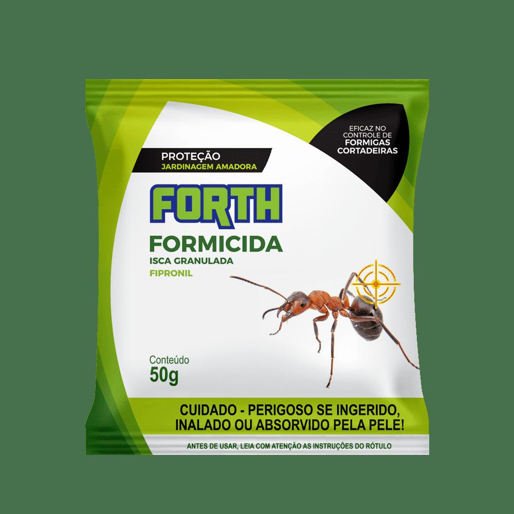 Formicida em Isca Forth Pronta para Uso 50g Mata Formiga