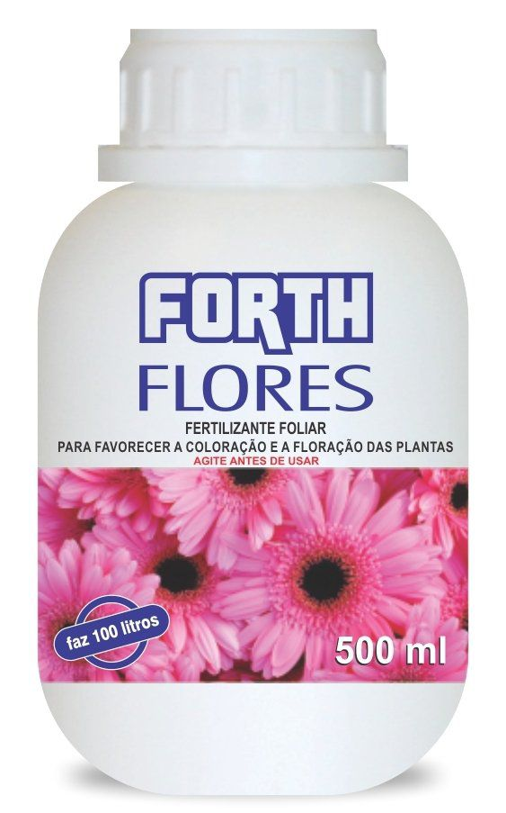 Forth Flores Líquido Concentrado 500ml