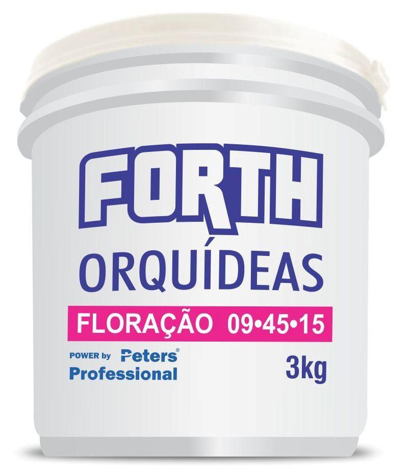 Forth Orquídeas Floração 09-45-15 3kg Peters Professional