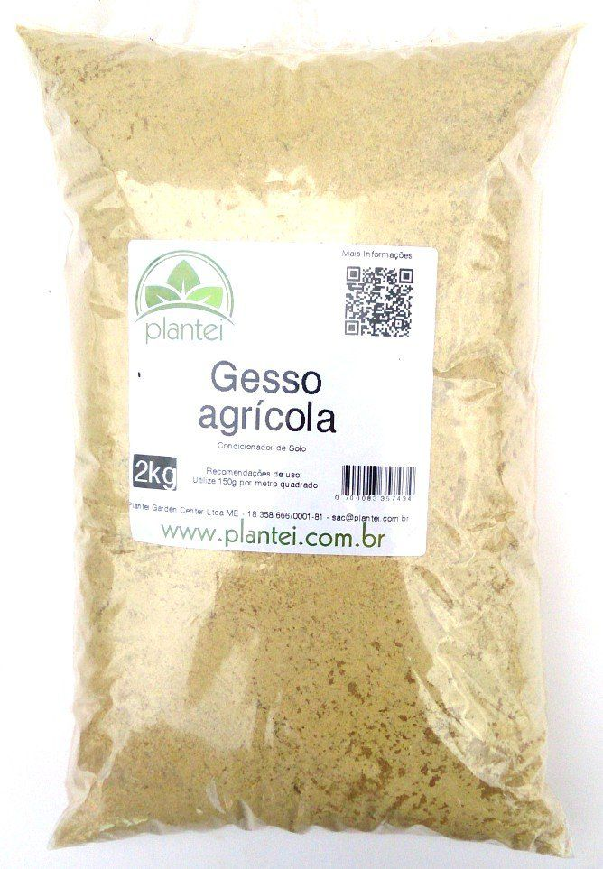Gesso Agrícola 2 kg - Plantei
