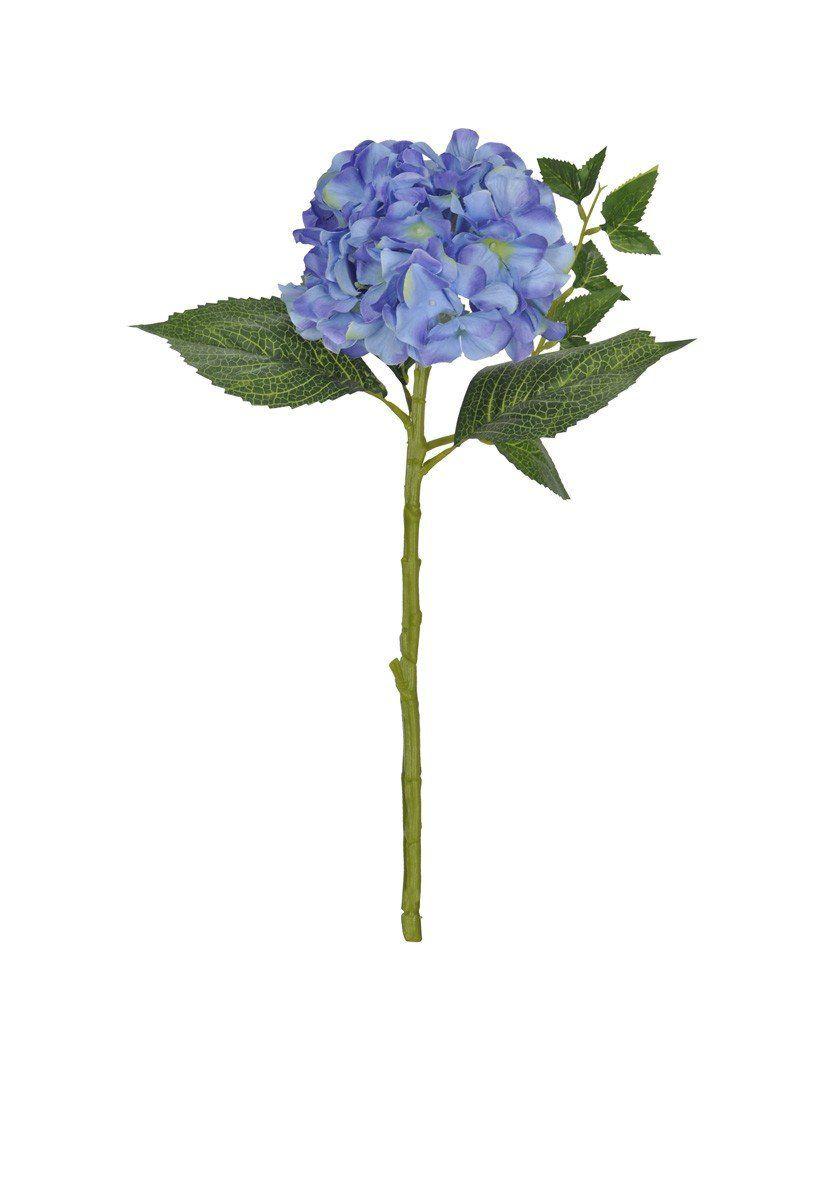 Hortênsia Azul artificial 49cm  - 26128002