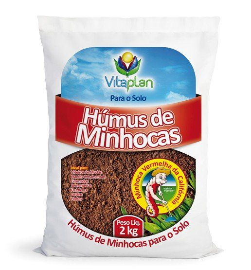 Húmus de Minhocas 2kg Vitaplan