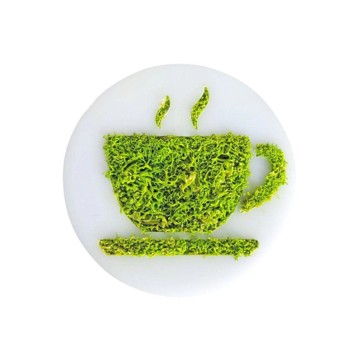 Ímã de Geladeira Ecoticon Natural Xícara de Café 10cm