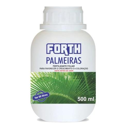 Fertilizante Foliar Forth Palmeiras Líquido Concentrado 500ml
