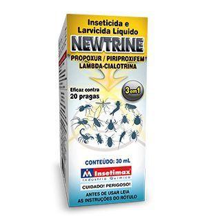 Inseticida e Larvicida Líquido Newtrine 30ml