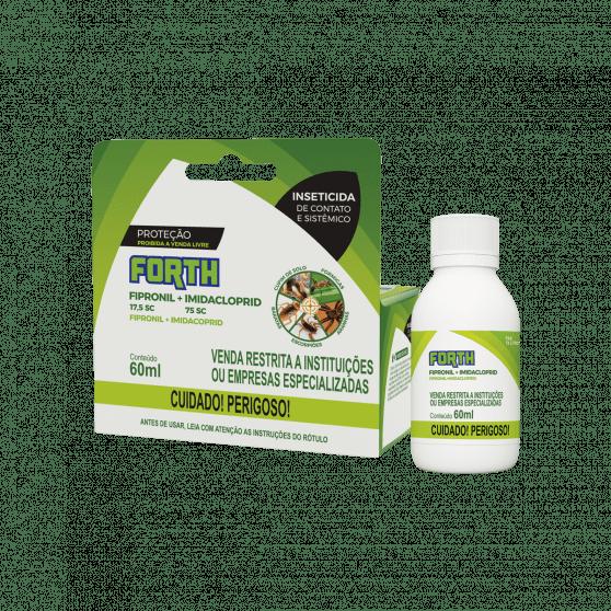 Inseticida Forth Fipronil + Imidacloprid Concentrado 60ml