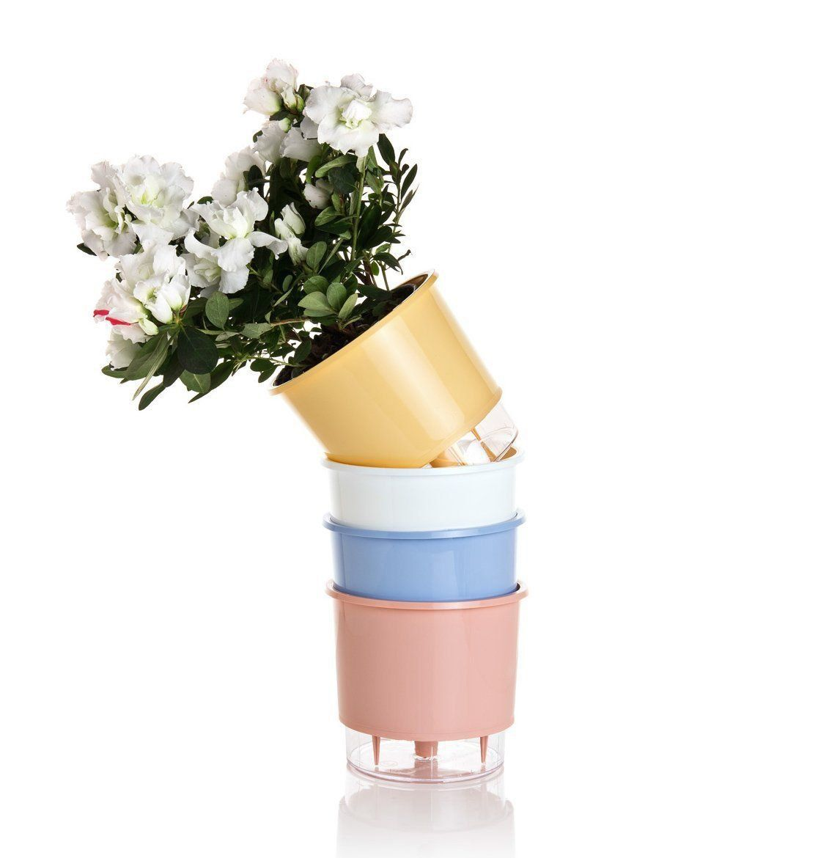 Kit 4 Vasos Autoirrigáveis MÉDIOS N03 Wishes