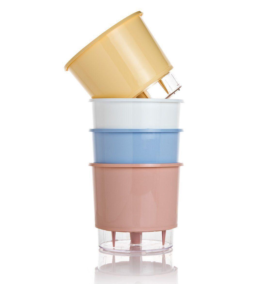 Kit 4 Vasos Autoirrigáveis PEQUENOS N02 Wishes