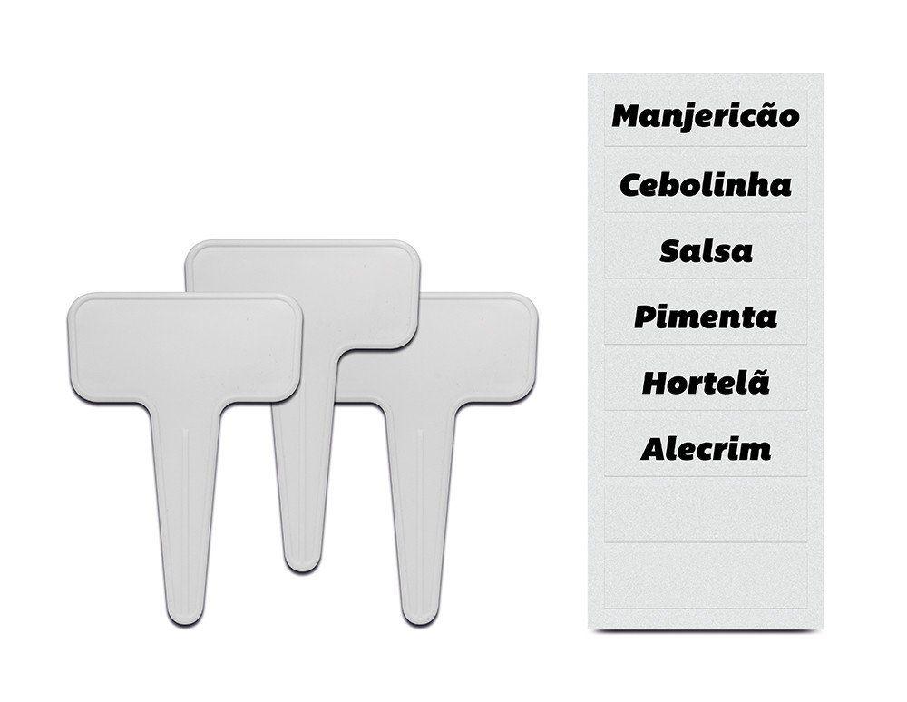 Kit identificador de plantas 3 peças Ou Linha Plantar