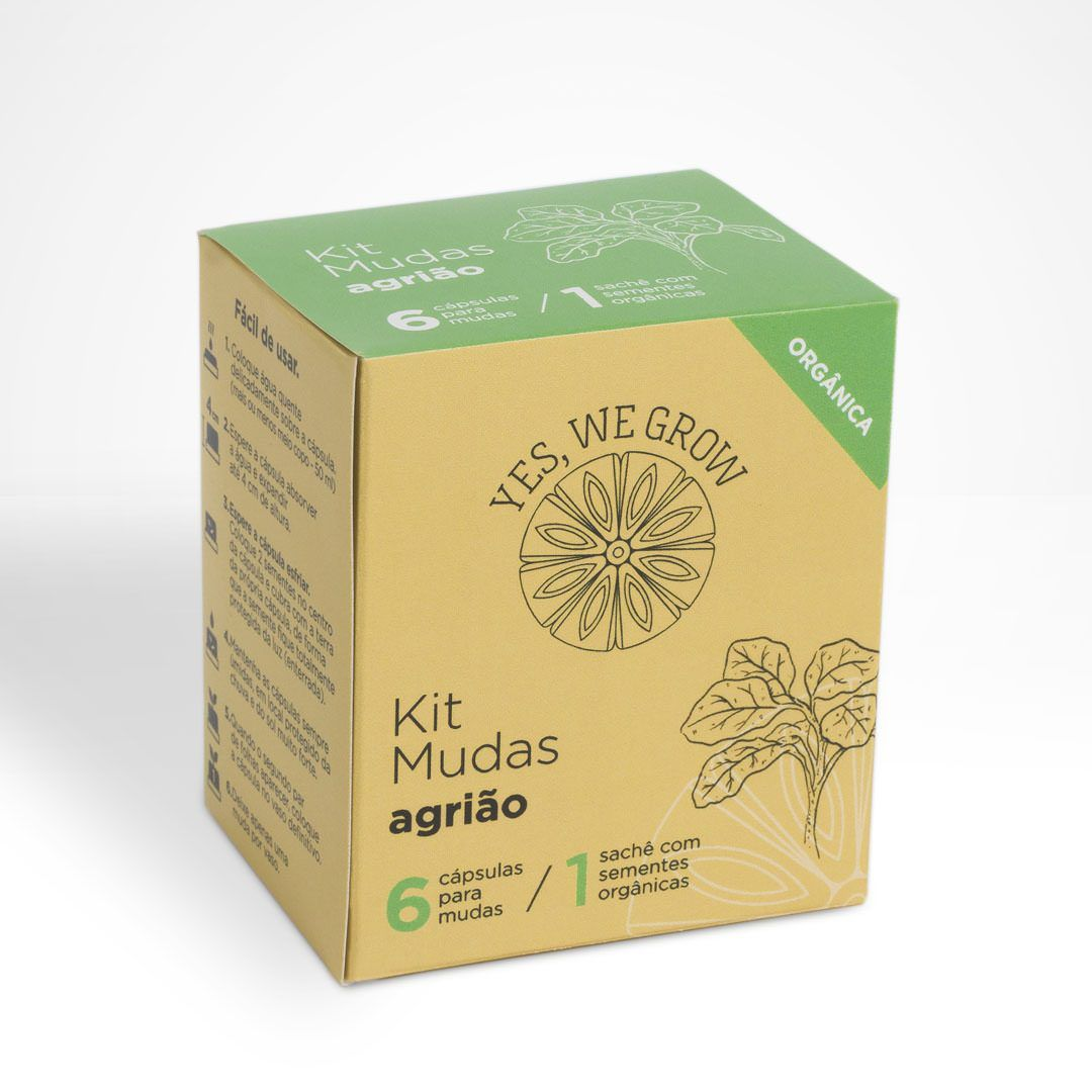Kit Mudas Agrião