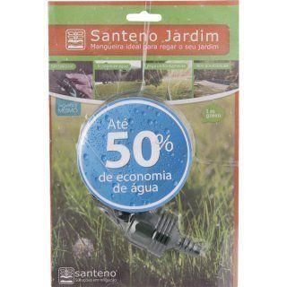 Kit Mangueira para irrigação Jardim 15 metros Santeno