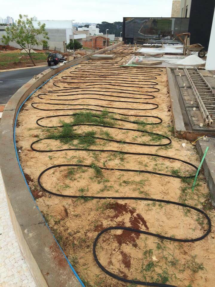 Mangueira irrigação com micro poros transpirante 1/2 7,6m