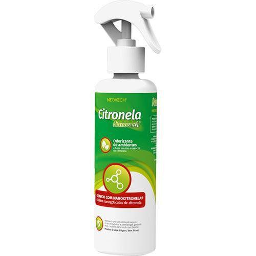 Nanovech Citronela Odorizador de Ambientes 250 ml