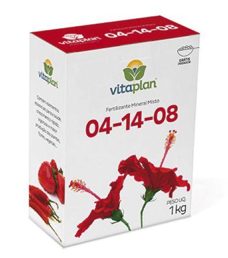 NPK 04-14-08 Vitaplan 1 Kg Grátis dosador!