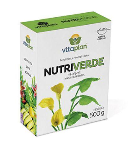Nutriverde 13-13-15 500g Vitaplan - Grátis dosador!