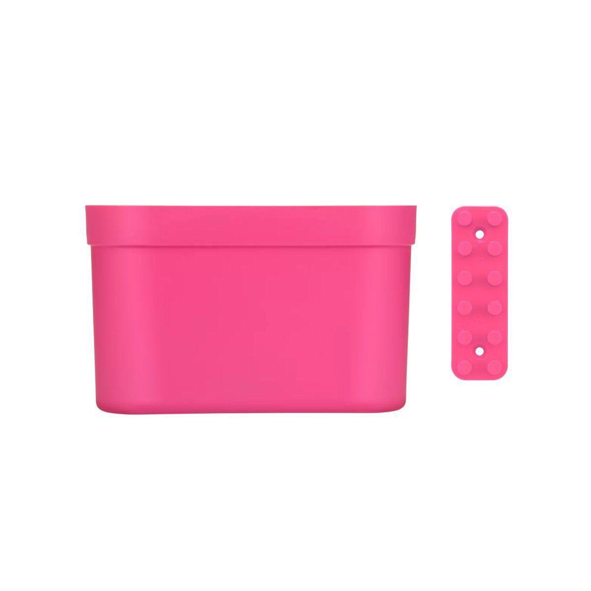 Organizador Grande com Barra Loft Up Coza 21 x 13 x 9 cm Rosa