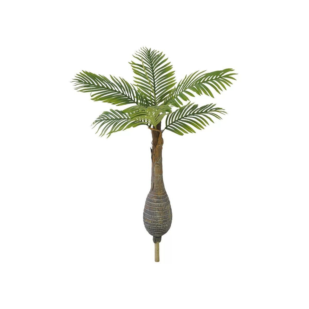 Palmeira Garrafa artificial X6 verde 1,5 m