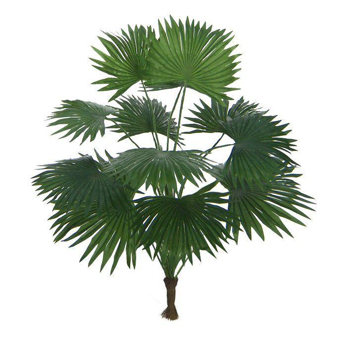 Palmeira leque artificial 42 cm - Verde - 00374001