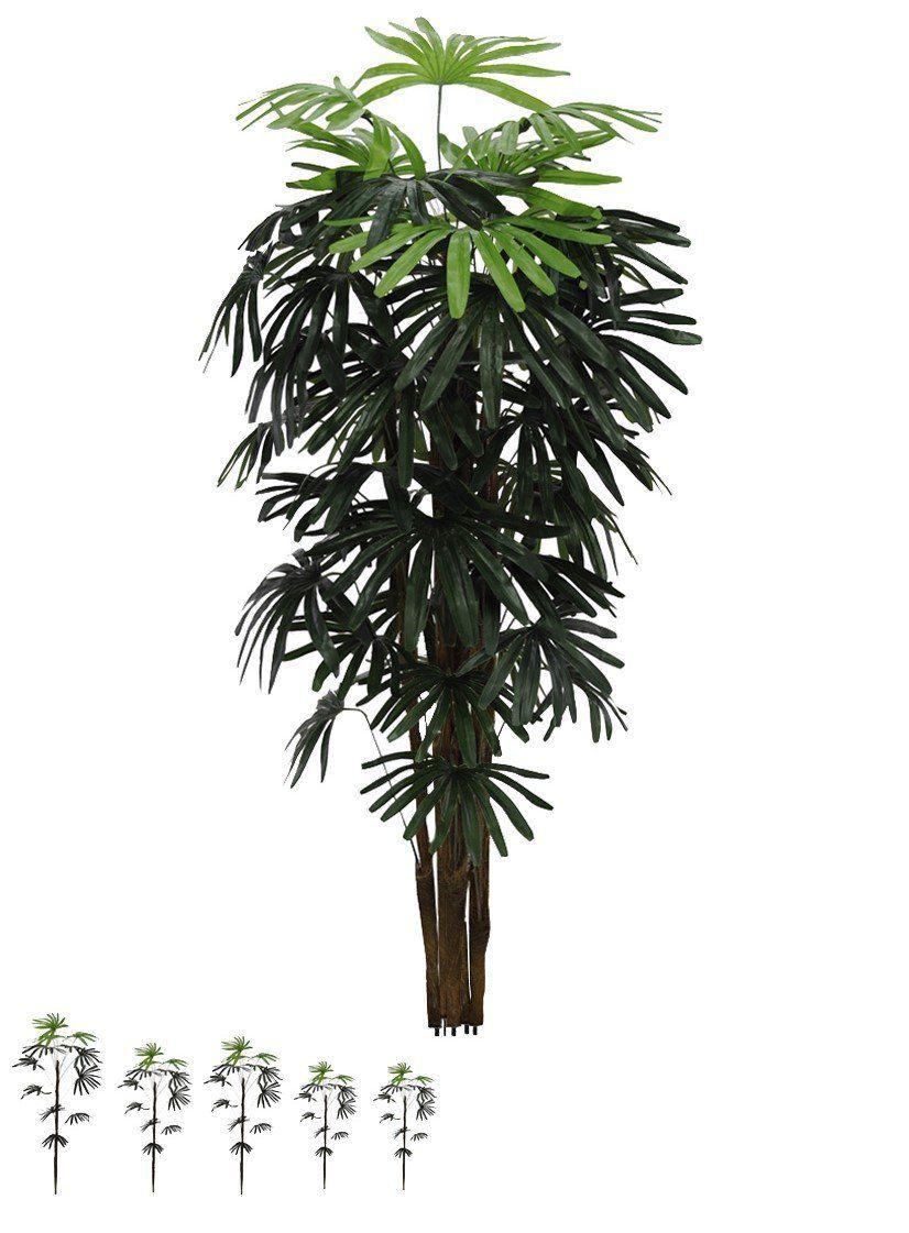 Palmeira Raphis ou Ráfia artificial 1,2 m - 29574001