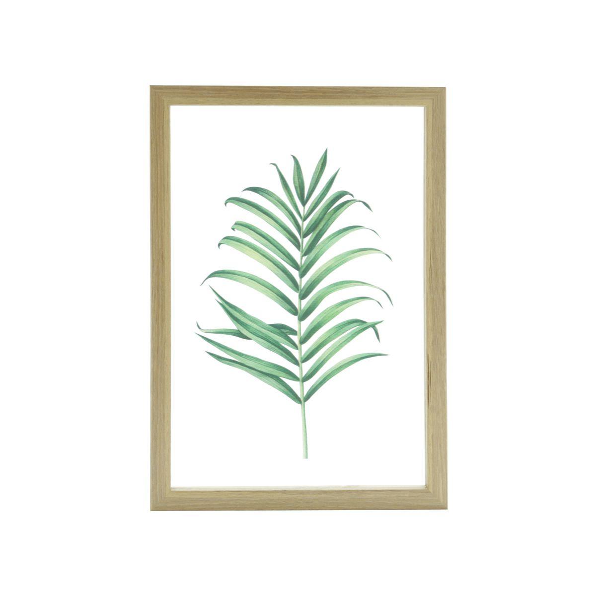 Quadro Decorativo Palm Leaf 32cm x 22cm - 41923
