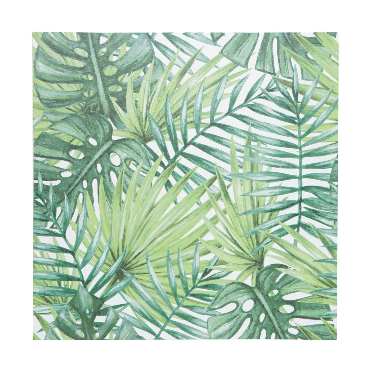 Quadro Decorativo Palm Tree Leaves 40cm x 40cm - 40976