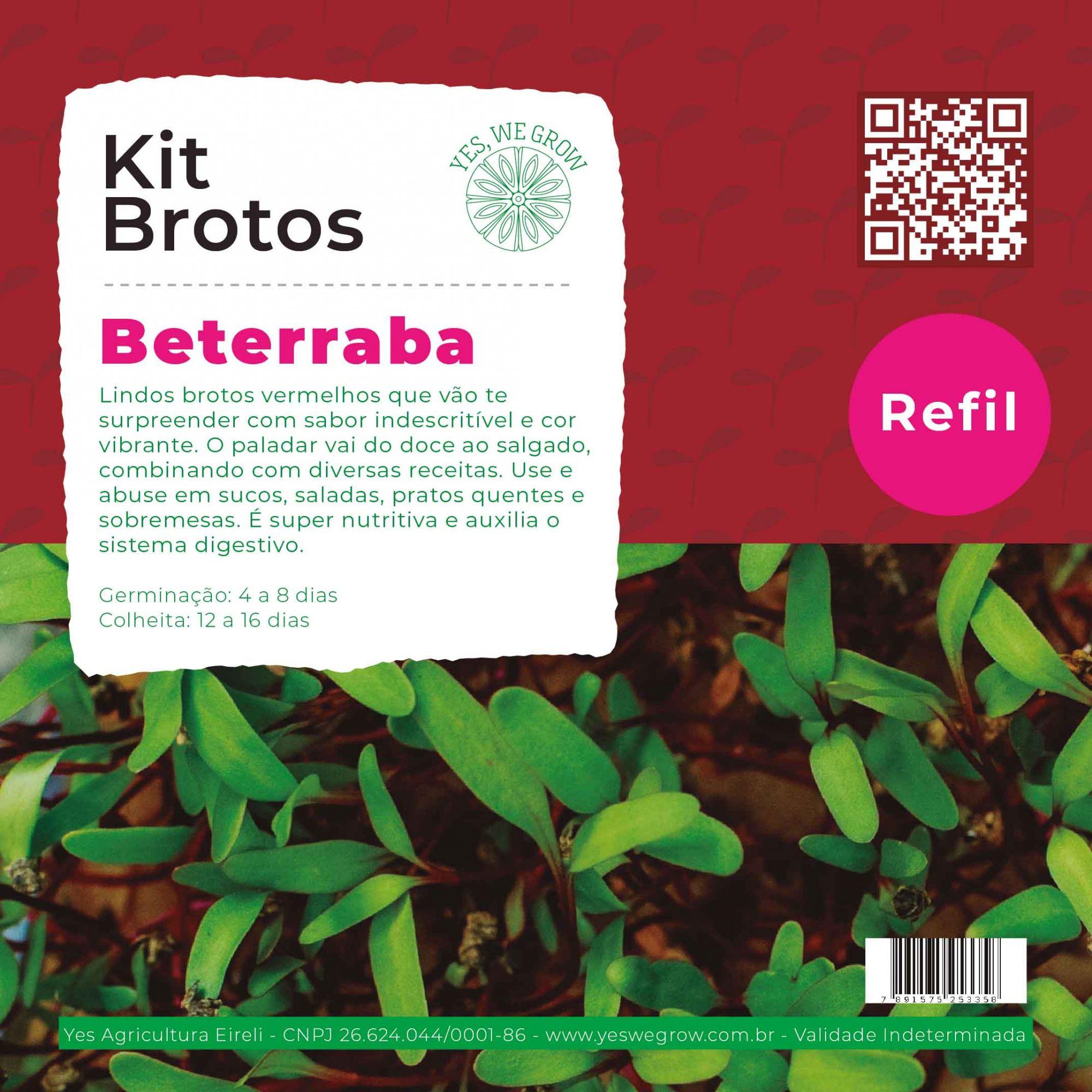 Refil para Kit Brotos Beterraba