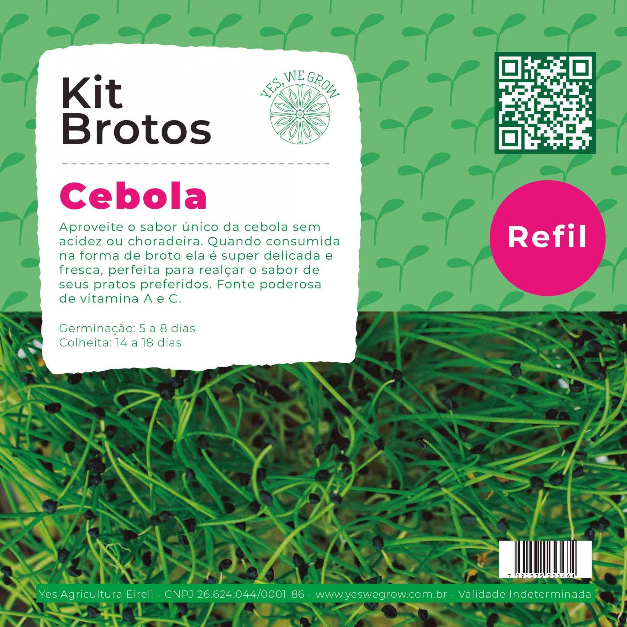 Refil para Kit Brotos Cebola