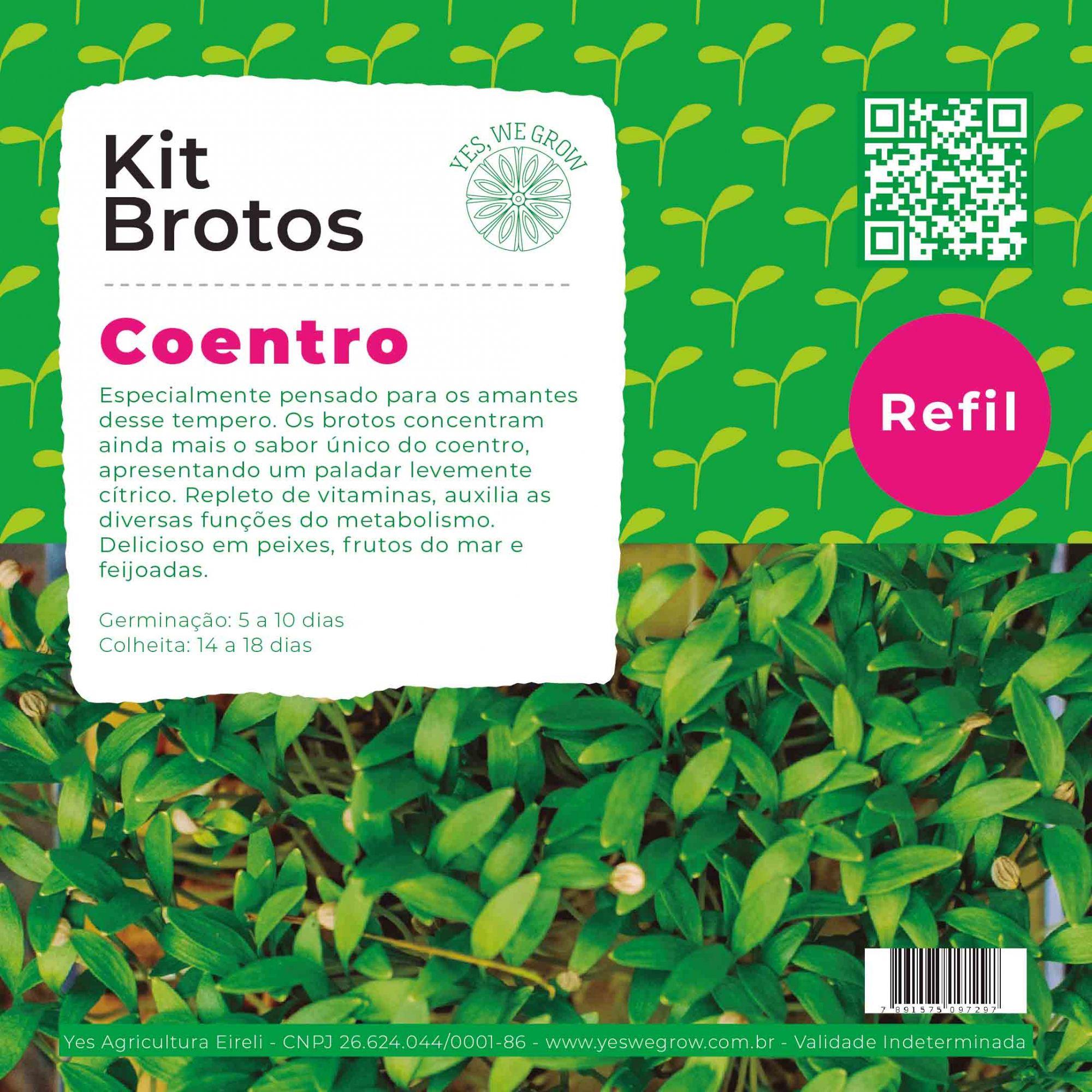 Refil para Kit Brotos Coentro