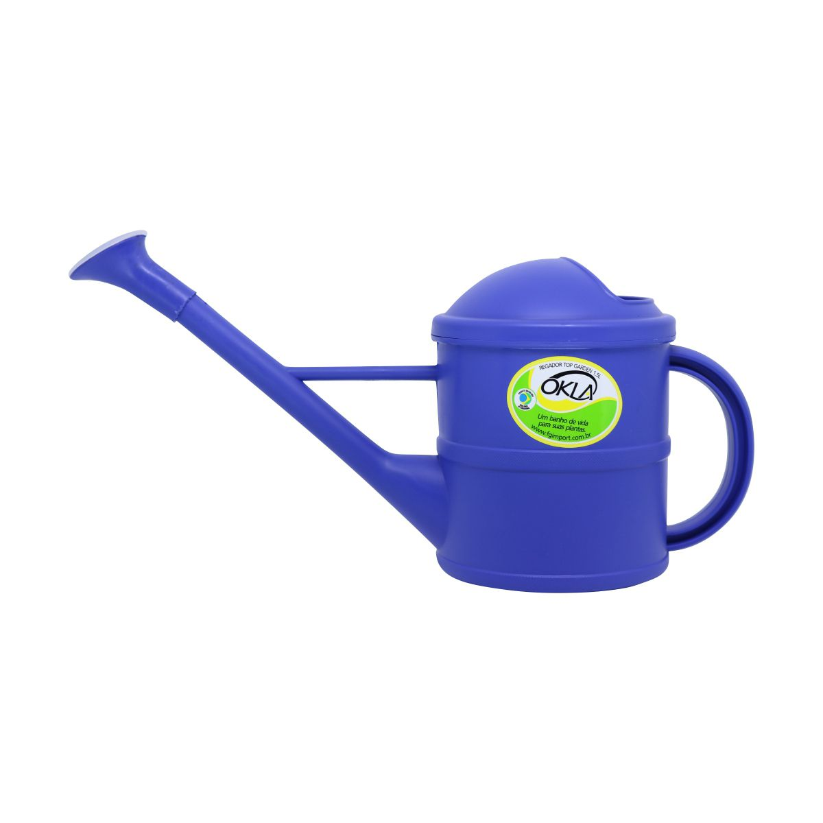 Regador 1,5 litro Azul Top Garden