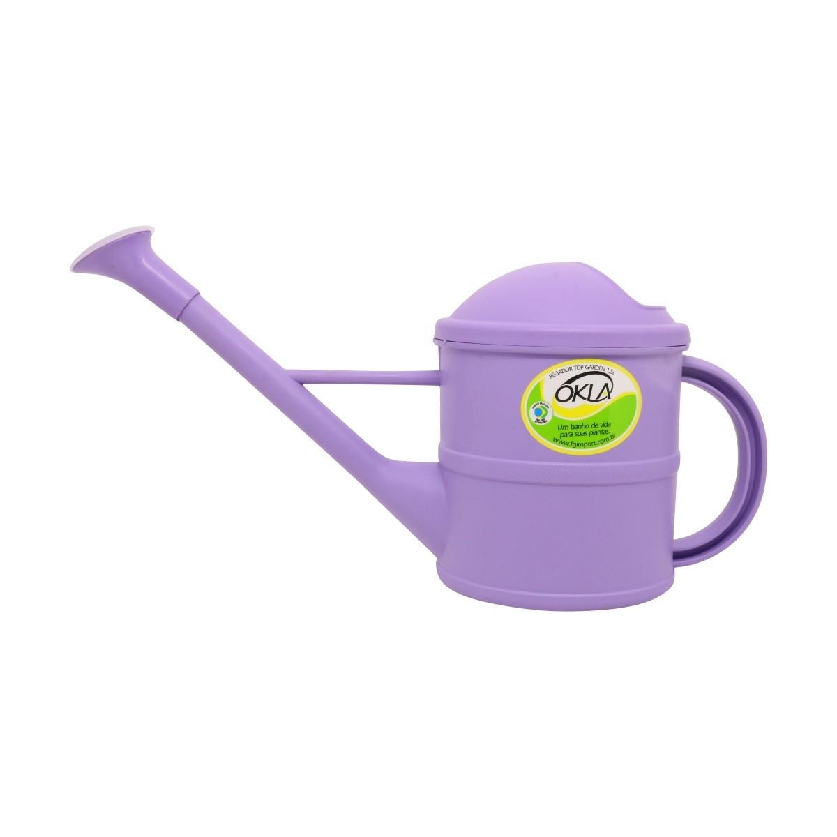 Regador 1,5 litro Lilás Top Garden