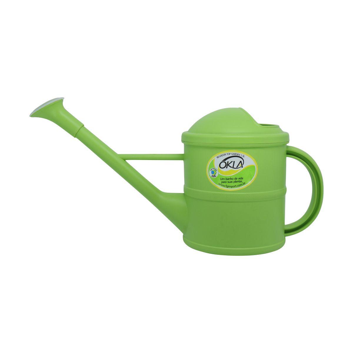 Regador 1,5 litro Verde Top Garden