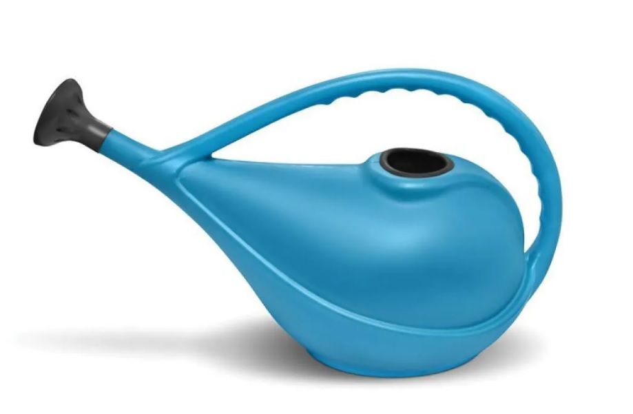 Regador Plástico Azul 3 Litros