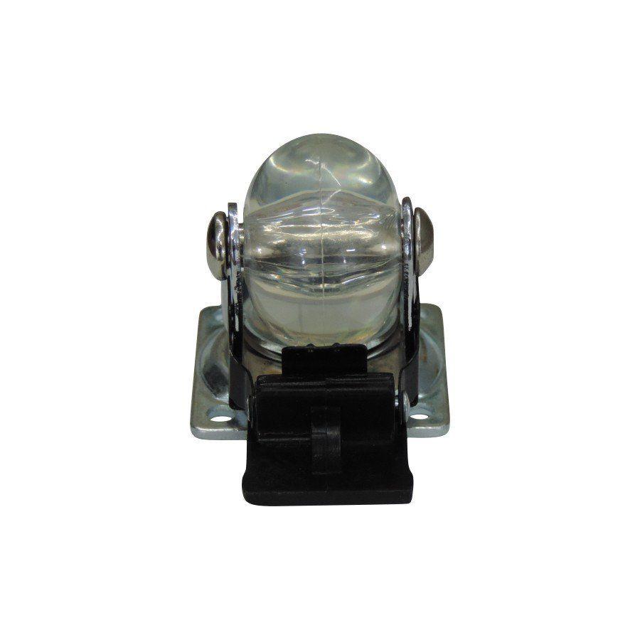 Rodízio Anti Risco 35mm com freio Suporta até 40kg