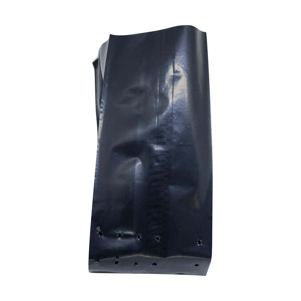 Saco para mudas aproximadamente 30cm x 40cm plástico preto para árvores grandes 100 unidades