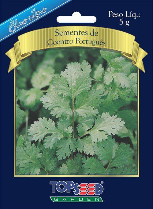Sementes de Coentro Português - Topseed Blue Line