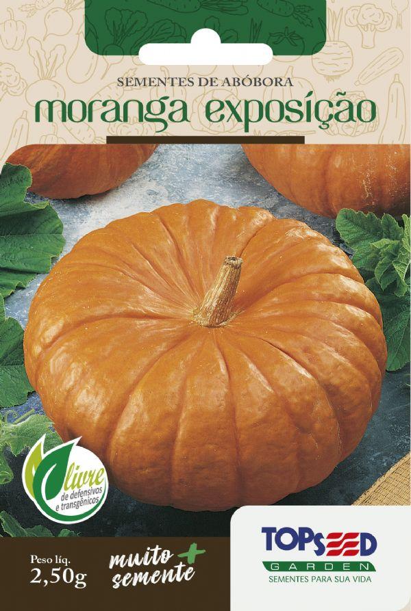 Sementes de Abóbora Moranga Exposição 2,5g - Topseed Linha Tradicional