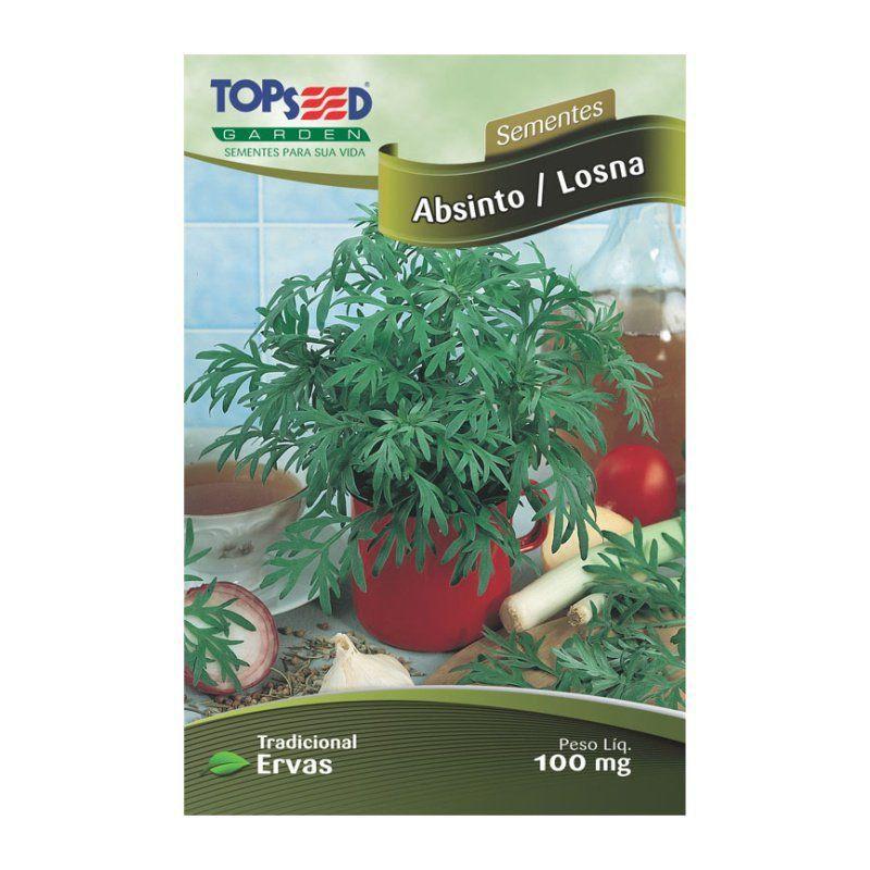 Sementes de Absinto/Losna - Topseed Linha Tradicional