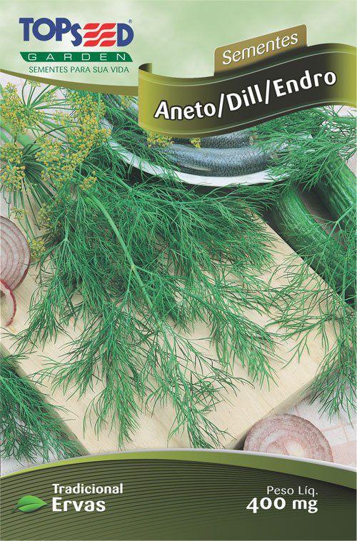 Sementes de Aneto / Dill / Endro - Topseed