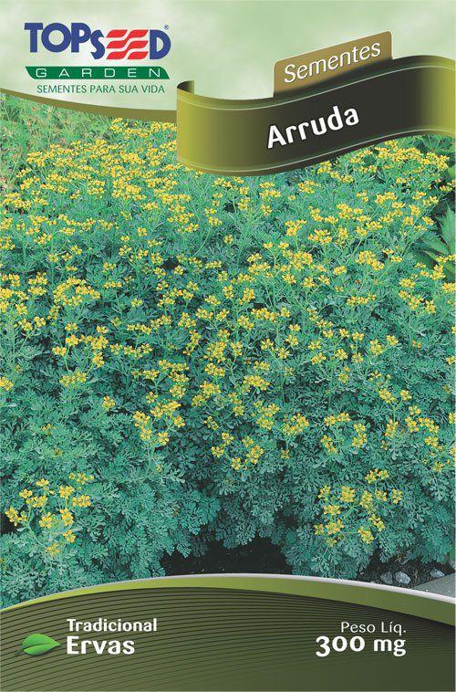 Sementes de Arruda - Topseed Linha Tradicional