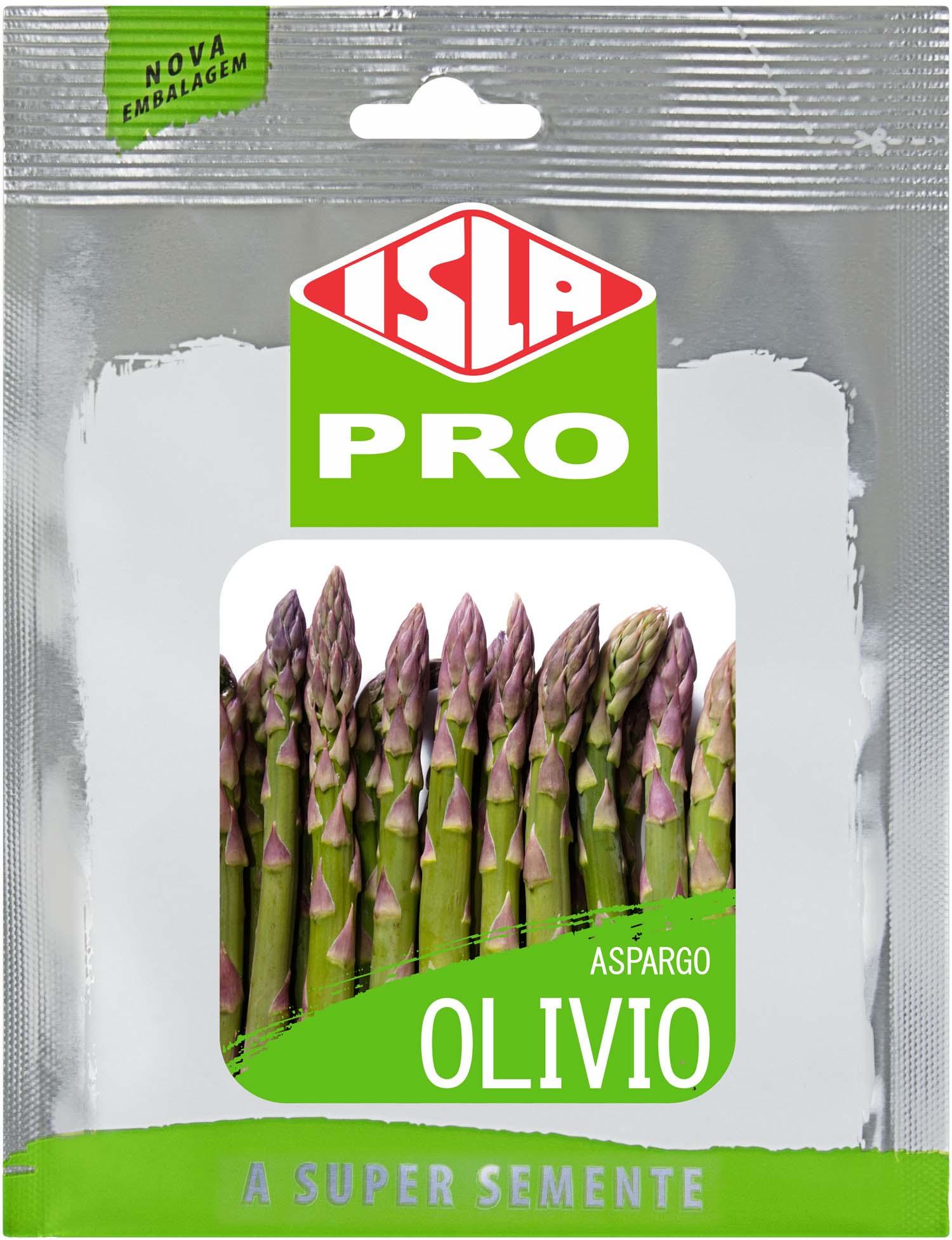 Sementes de Aspargo Olivio Envelope com 10g - Isla Pro