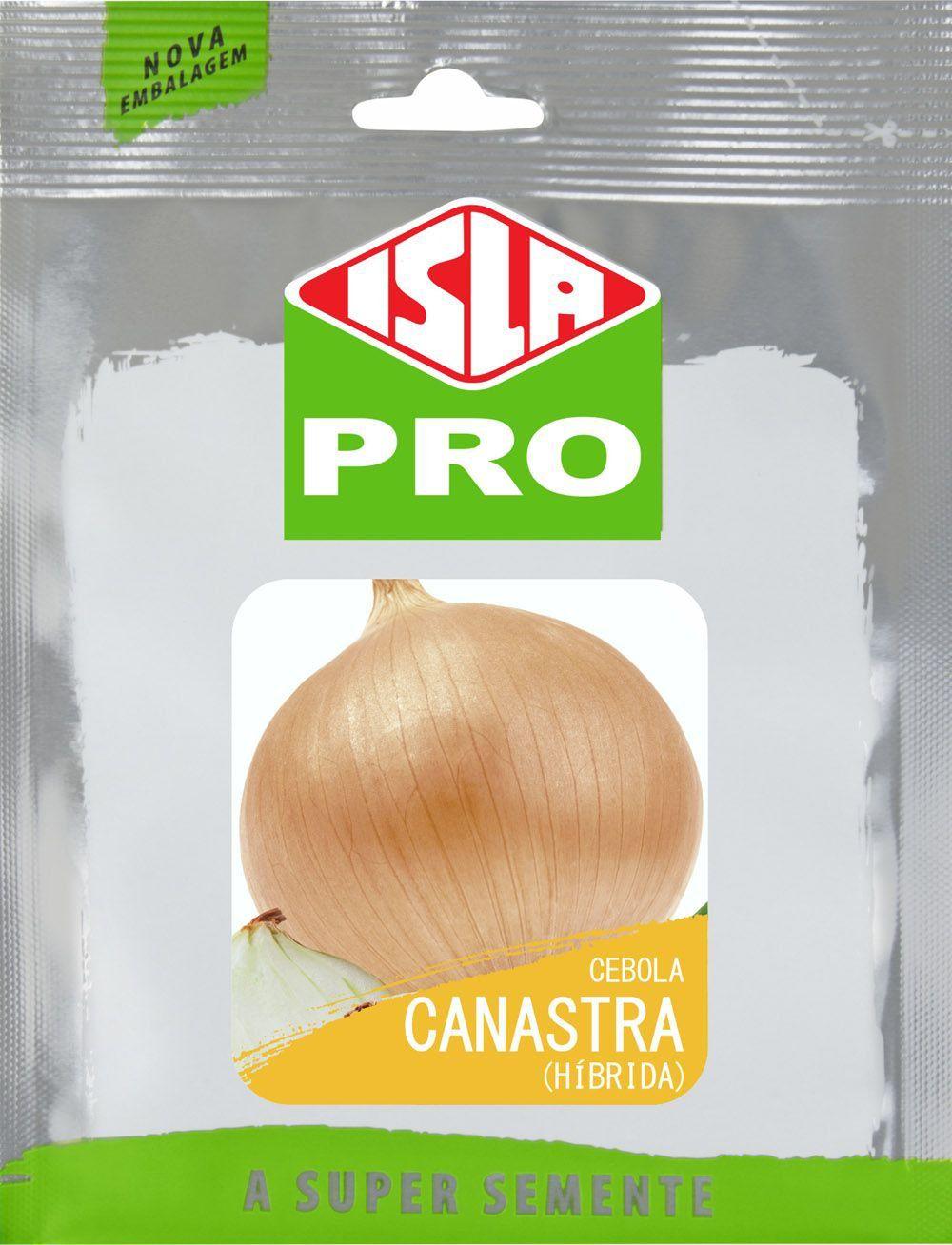 Sementes de Cebola Canastra Híbrida 10g - Isla Pro