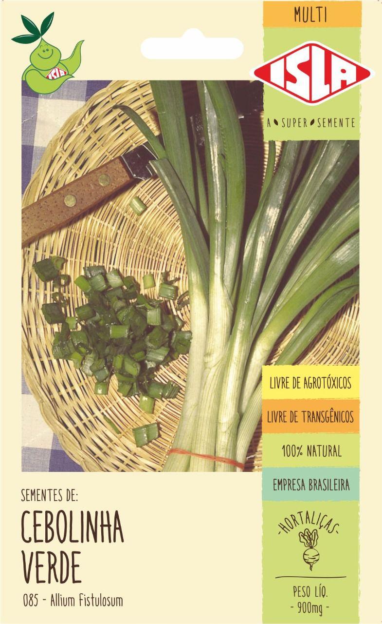 Sementes de Cebolinha Verde 900mg - Isla Multi