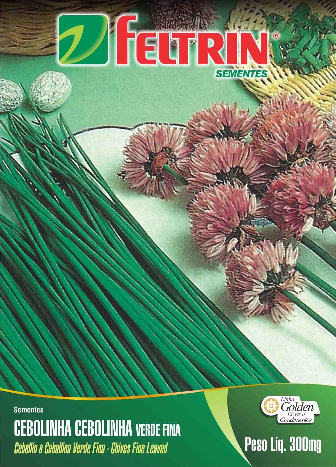 Sementes de Cebolinha Verde Fina - Feltrin Linha Golden