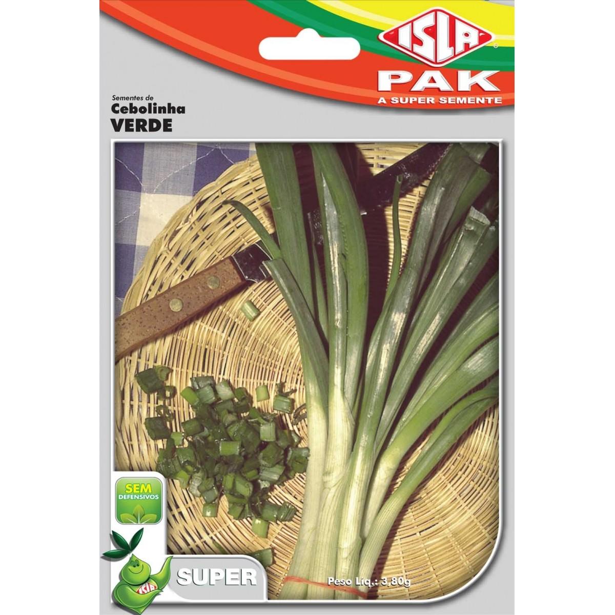 Sementes de Cebolinha Verde - Isla Superpak