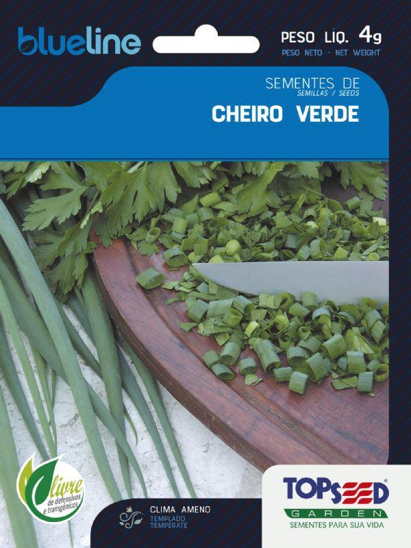 Sementes de Cheiro Verde 4g - Topseed Blue Line
